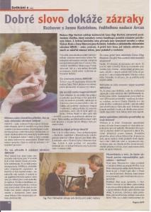 časopis cena 1999 - 1.str